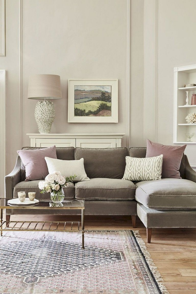 65 Pretty And Comfort Modern Corner Sofa For Living Room Corner Sofa Living Room Taupe Sofa Living Room French Country Living Room #taupe #couch #living #room