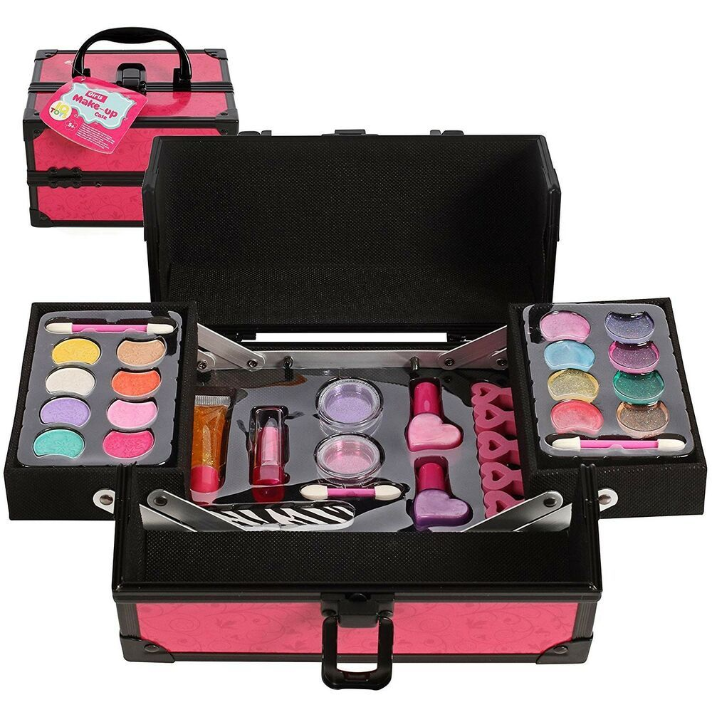 Kids Beauty Cosmetic Case 3 4 5 6 7 8 9 10 Years Age Old