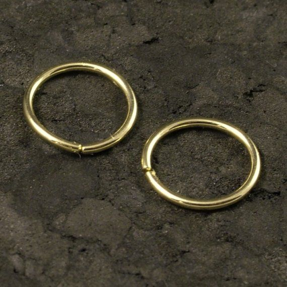 Small Gold Hoops Tiny Gold Hoop Earrings Small Cartilage