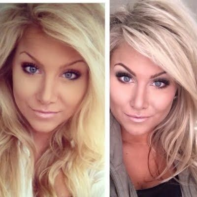 Yellow To Bombshell In 3 Easy Steps By Kimberly Ann Z Hair Styles Beautiful Blonde Hair Light Hair