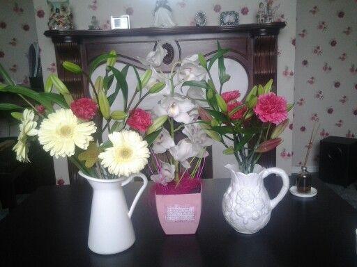 My birthday flowers :)