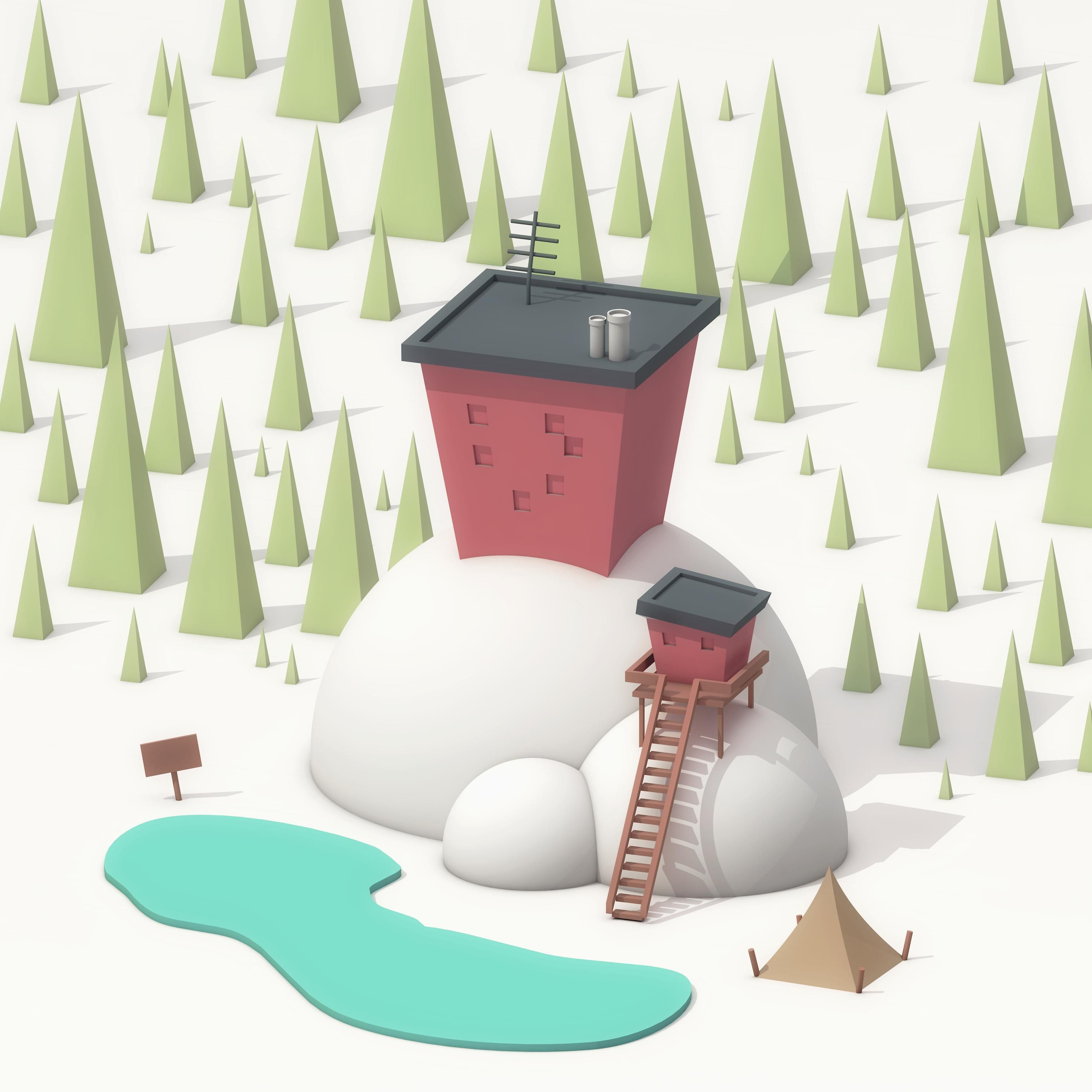 Pin by on low poly pinterest low poly 3d for 4d garden design