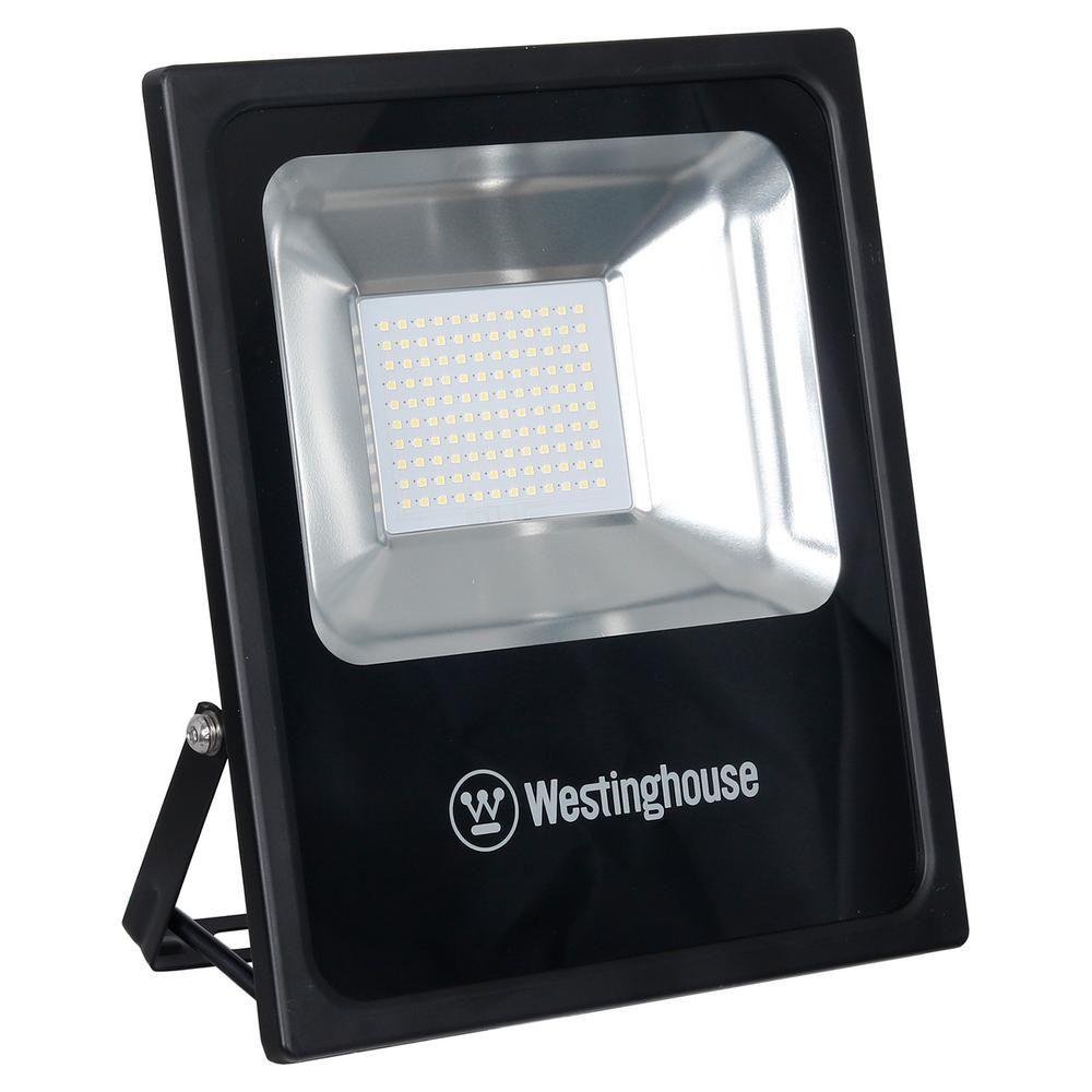 Westinghouse 10 000 Lumens 100 Watt Black Led Flood Light Led Flood Lights Led Led Technology
