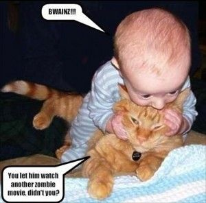 funny baby | funny babies | funny pictures. This is basically My nephew Cody and my moms dog Fred