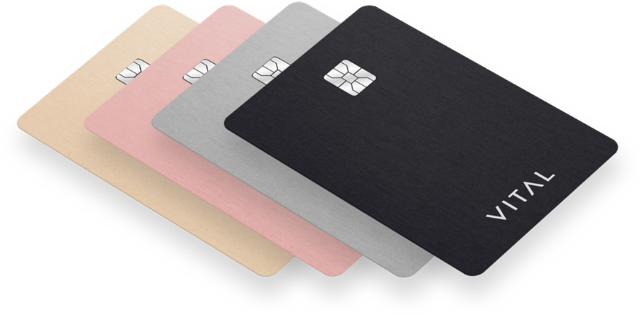 VITAL is the credit card that pays you to share. Get paid