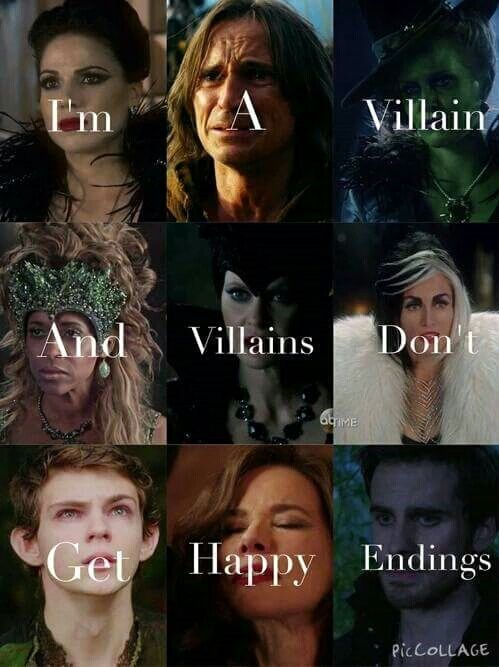 Once Upon a Time - Vilains <3
