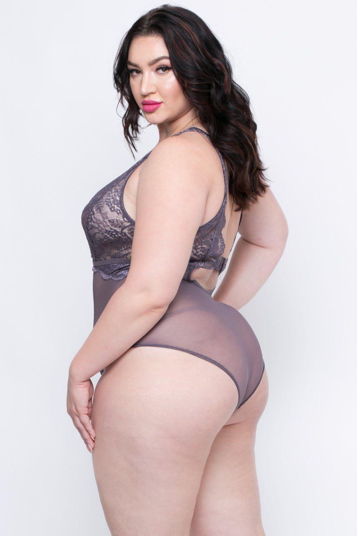 aubrey lace teddy lingerie - lavender | teddy lingerie, curvy and