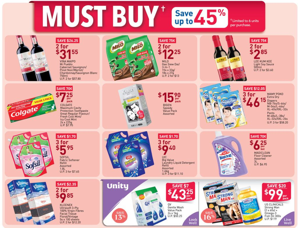 Ntuc Fairprice Sg Your Weekly Saver Promotion 21 27 May 2020