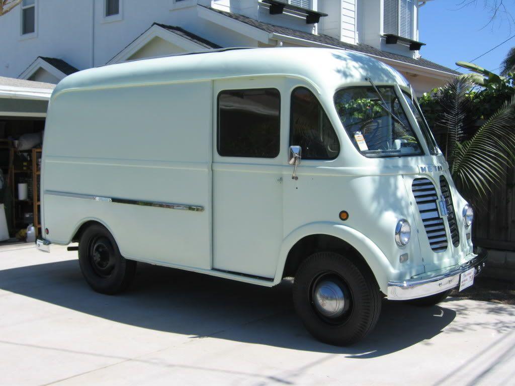 Vintage Milk Truck@Robbie Werner-delivery time! | girls just wanna ...