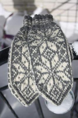 The Knitting needle: Linker til gratis mønster, Selbuvotter.