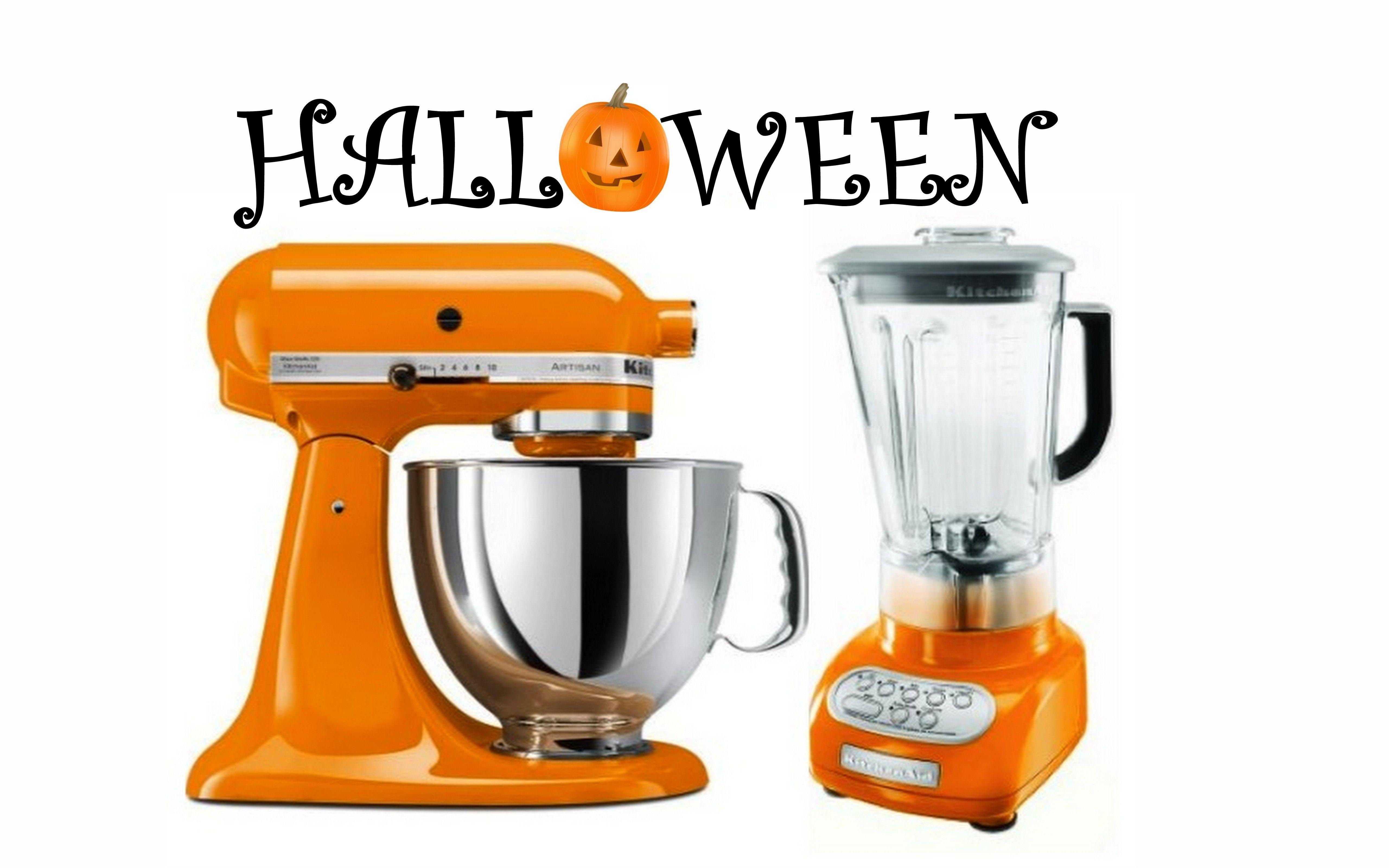 Happy halloween z kitchenaid mikser artisan