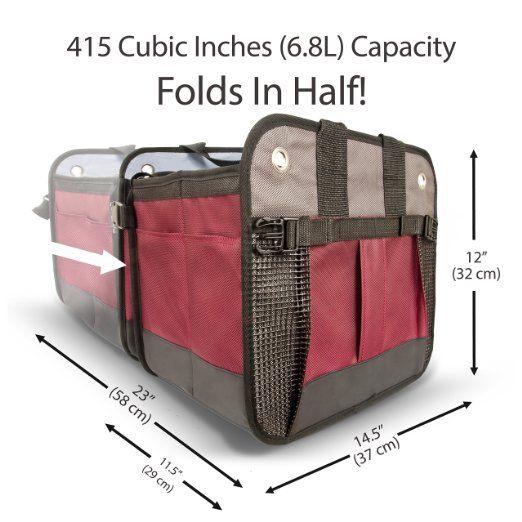 Bon Amazon.com: Car Trunk Organizer By Starlingu0027s   Cargo Trunk Storage  Container Best For