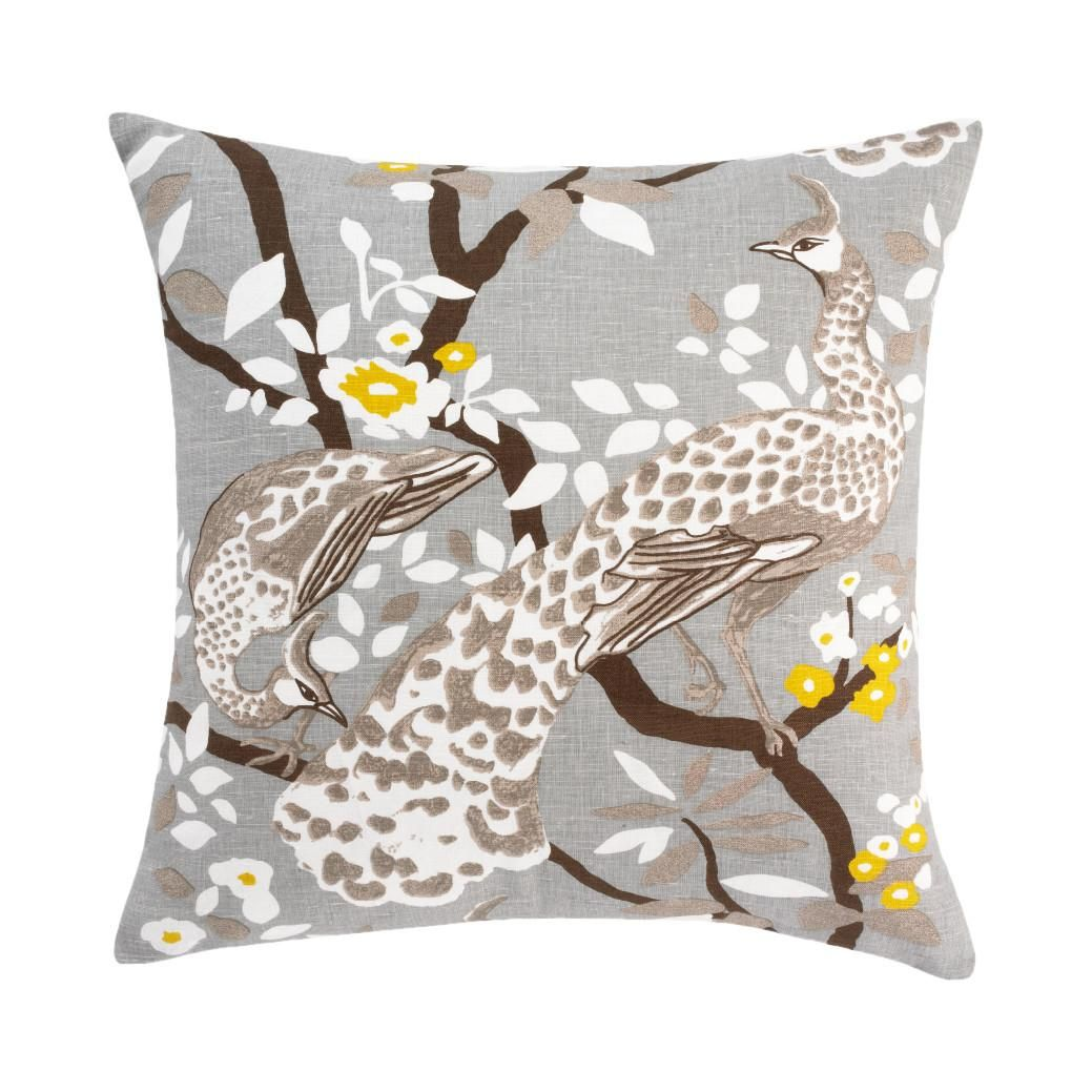 Studio Faves: Spring Throw Pillows. Peacock Citrine Pillow | The ...