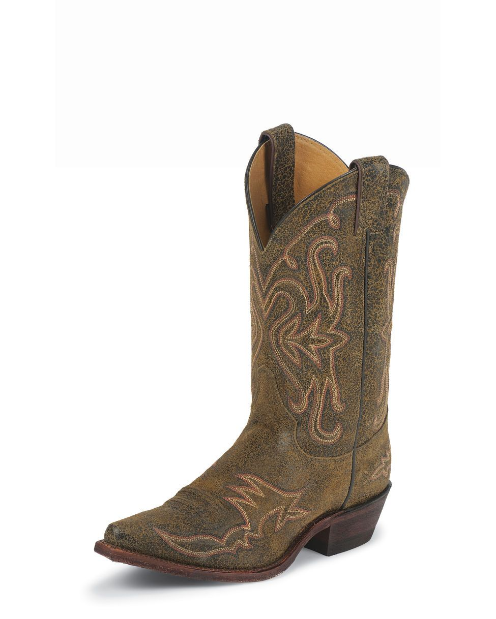 Justin Women's Oklahoma  Rust Boot - BRL111  Great shit kickers