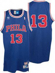 54fa48b10 Wilt Chamberlain Jersey  adidas Blue Throwback Swingman  13 Philadelphia  76ers Jersey  89.99 http
