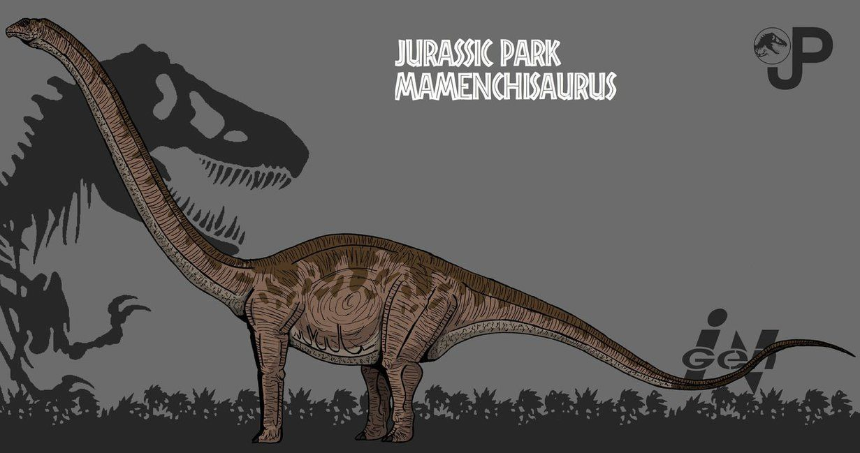 Image result for mamenchisaurus jurassic park