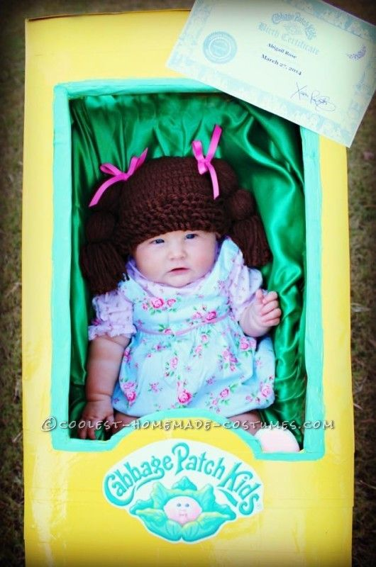 cutest ever cabbage patch doll costume for a baby - Cabbage Patch Halloween Costume For Baby