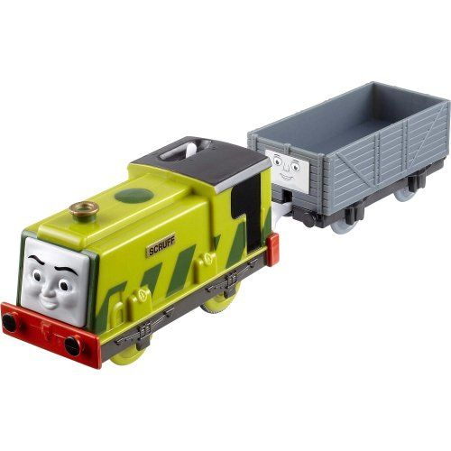 Thomas The Train Trackmaster Scruff With Car Fisher Price Thomas The Train Car Thomas And Friends