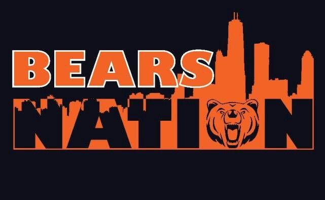 Bears Nation Chicago Bears Logo Chicago Bears Football Chicago Bears