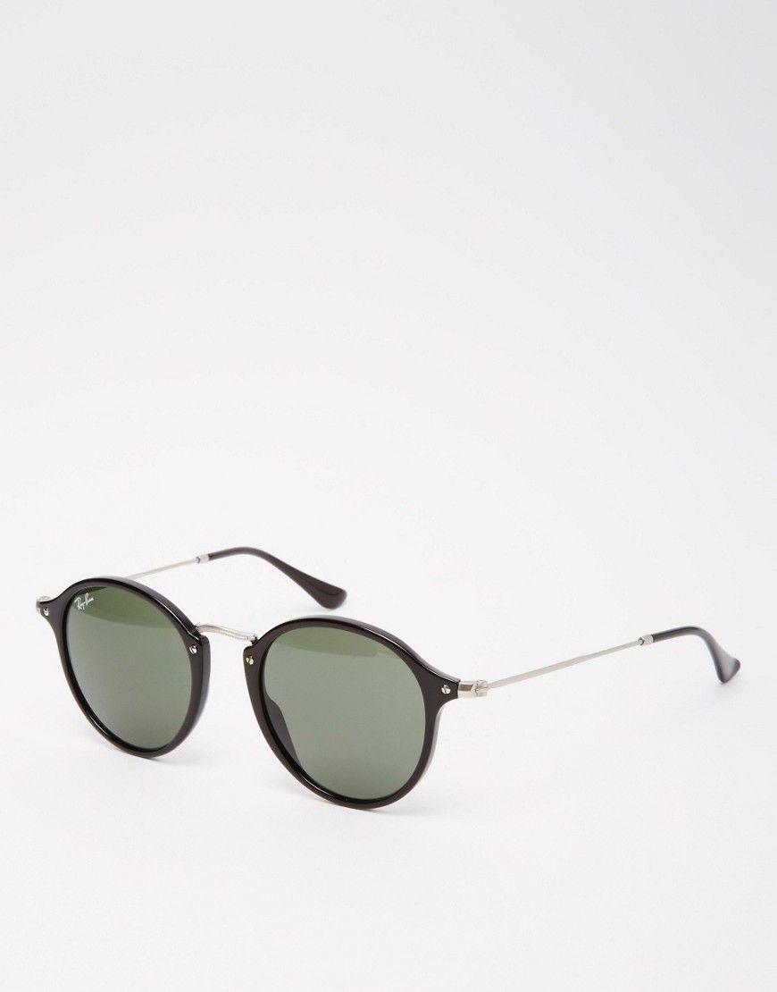77ead6d5ec90d Ray-Ban Round Polarised Sunglasses 0RB2447
