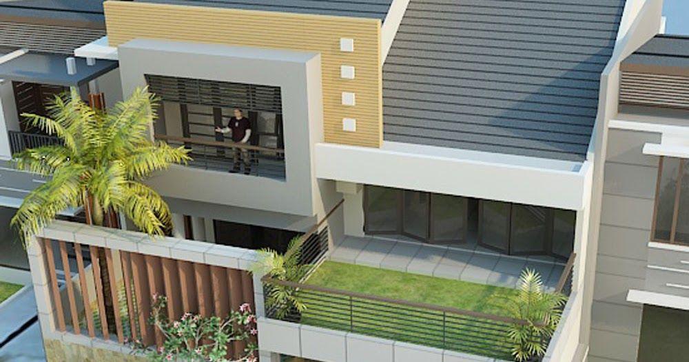 Desain Rumah Minimalis Modern Dengan Rooftop In 2020 High