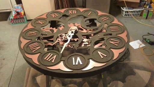Steampunk Clock DIY