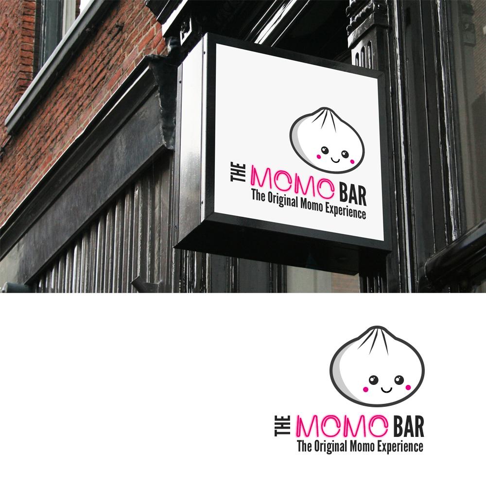 The Momo Bar By Soda Pop Graphics Shop Cool Logo Professional Graphic Design Interior Designer Logo