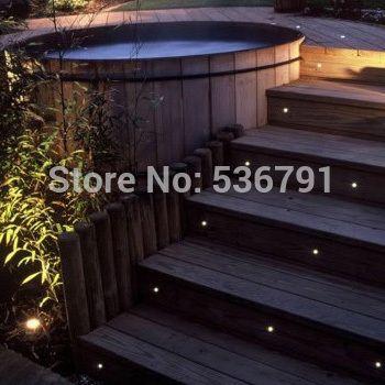 Led Eyelid Step Light 1w Ip68 Jt Lighting Led Deck Lighting Led Step Lights Step Lighting