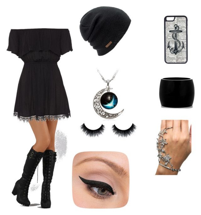 """Cute Date Outfit ~"" by andleigh on Polyvore featuring Coal, CellPowerCases, Alexander McQueen and LORAC"