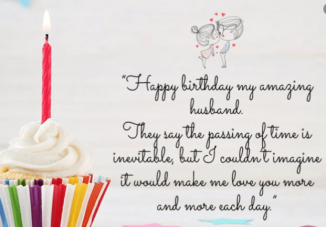 Happy Birthday To My Husband Letter Facebook Status