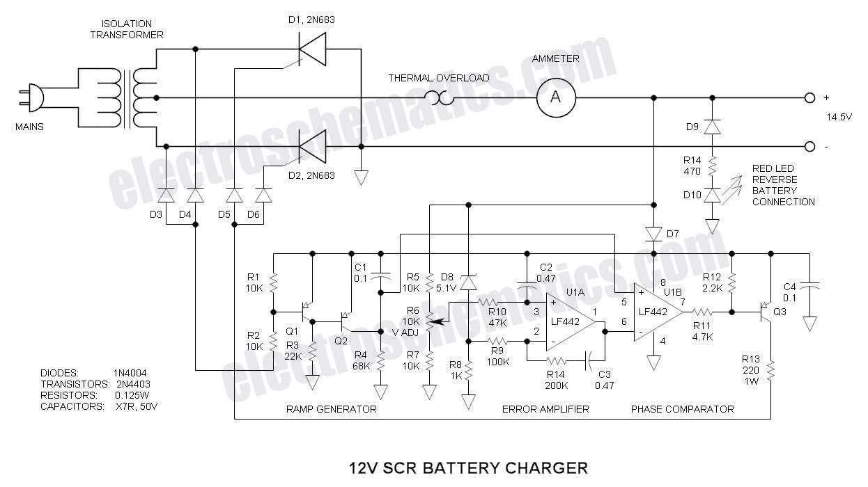"""Képtalálat a következőre: """"2p4m thyristor"""" Automatic Battery Charger, Solar  Battery Charger,"""