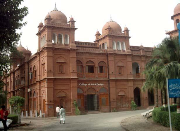 Faseelain Girai Ja Rahi Hain Dada Pota Show University Punjab Historic Buildings