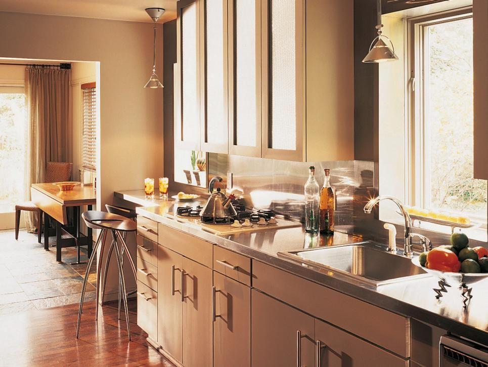 Inspired Examples Of Stainless Steel Kitchen Countertops Top Kitchen Designs Kitchen Design Small Kitchen Design