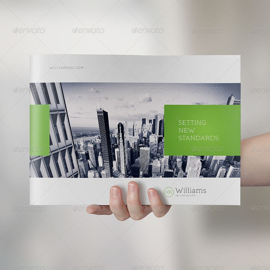 Awesome Landscape Brochure MockUp Set ABrochuremockup