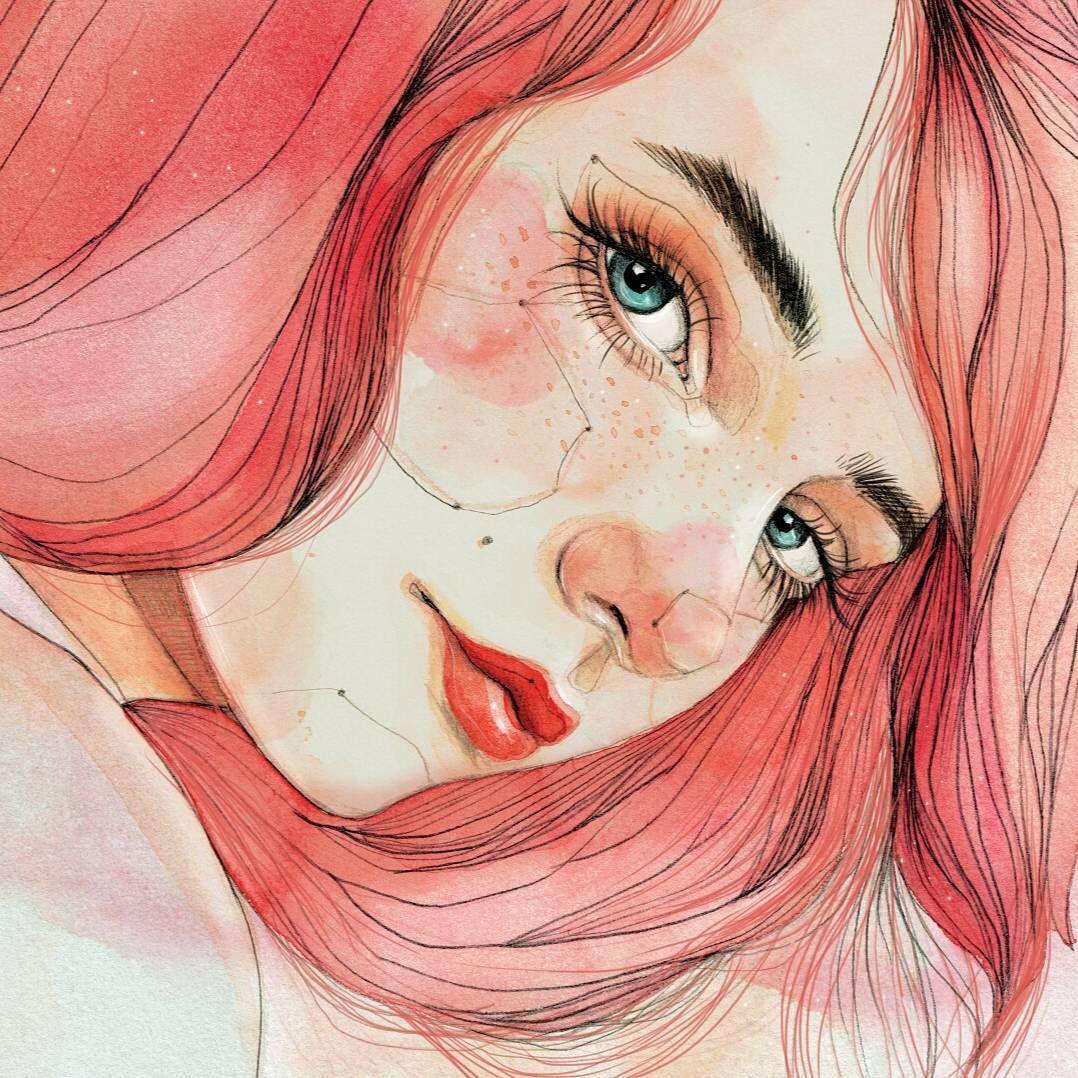 20 Exquisitas ilustraciones que retratan la feminidad desde su estado más puro