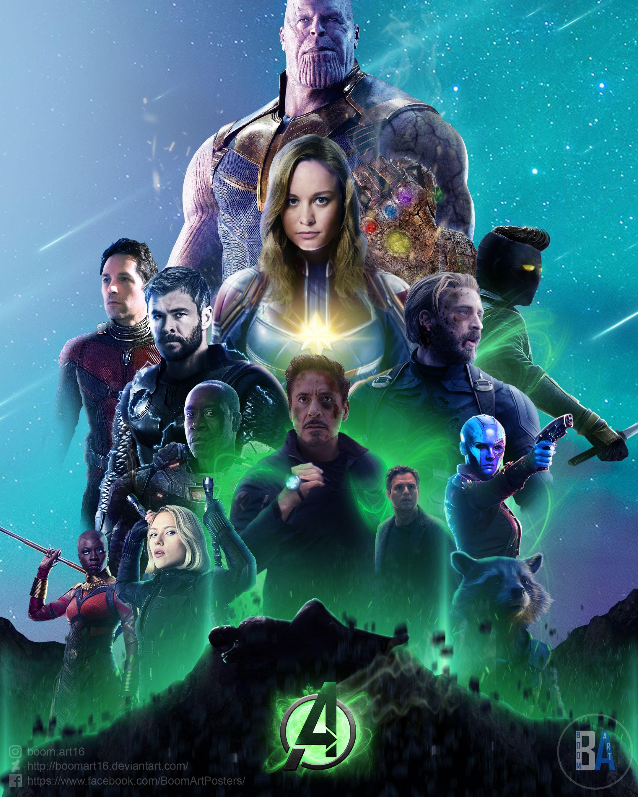 marvel's avengers 4 posterboomart16 | marvel | marvel avengers