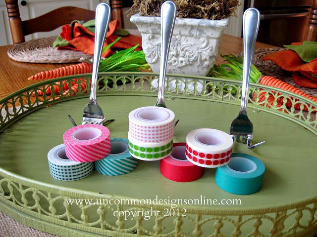 Washi Tape Place Card Tutorial