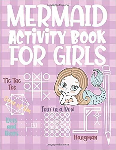 Mermaid Activity Book for Girls Fun
