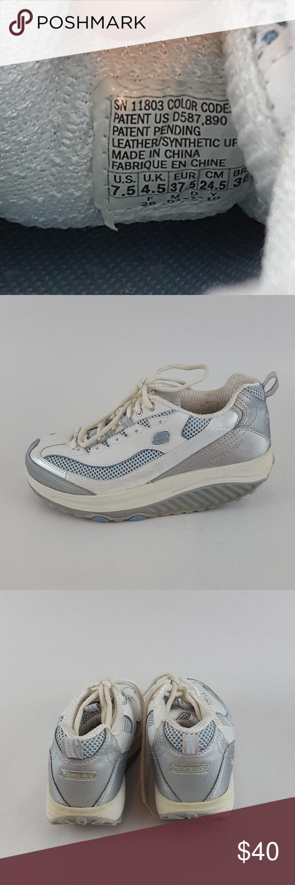 364e24315e8 Skechers Shape Ups Jump Start Toning Walking White Good Skechers Shoes