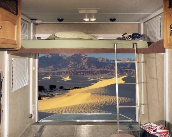 Diy toy hauler bed lift wow blog for Rv loft bed