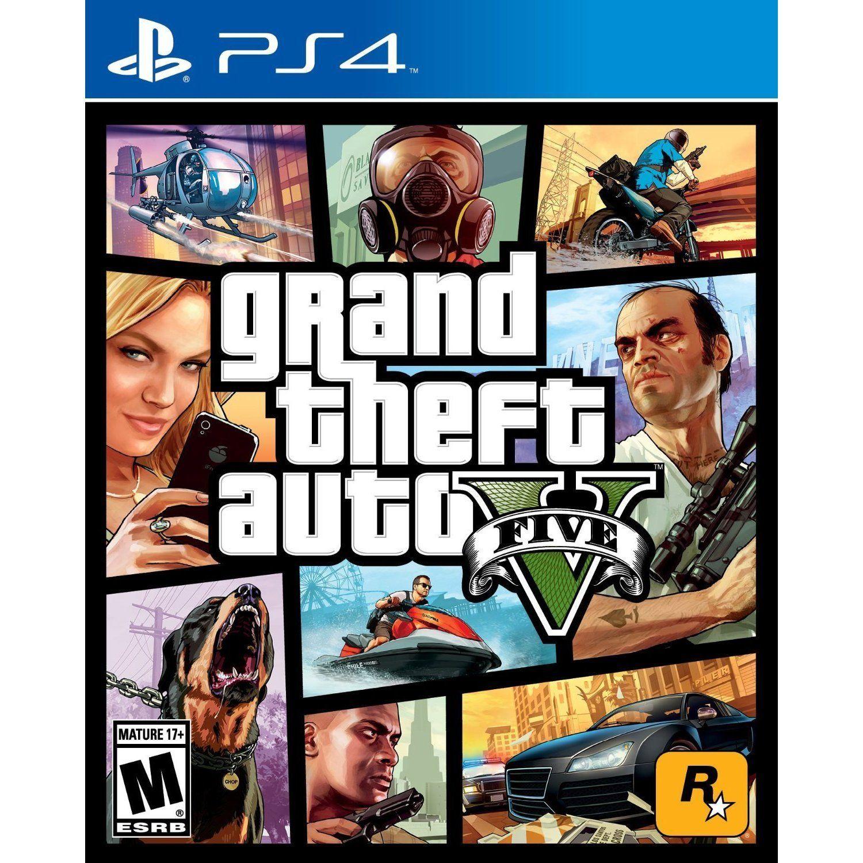 PS4 Grand Theft Auto V Gta 5 PcPs4