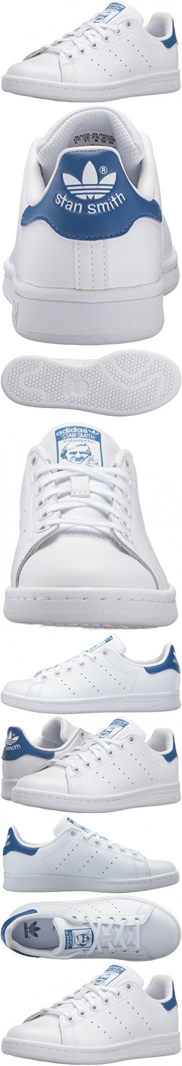 5e50d8cba03 Adidas Originals Boys  Stan Smith J Skate Shoe