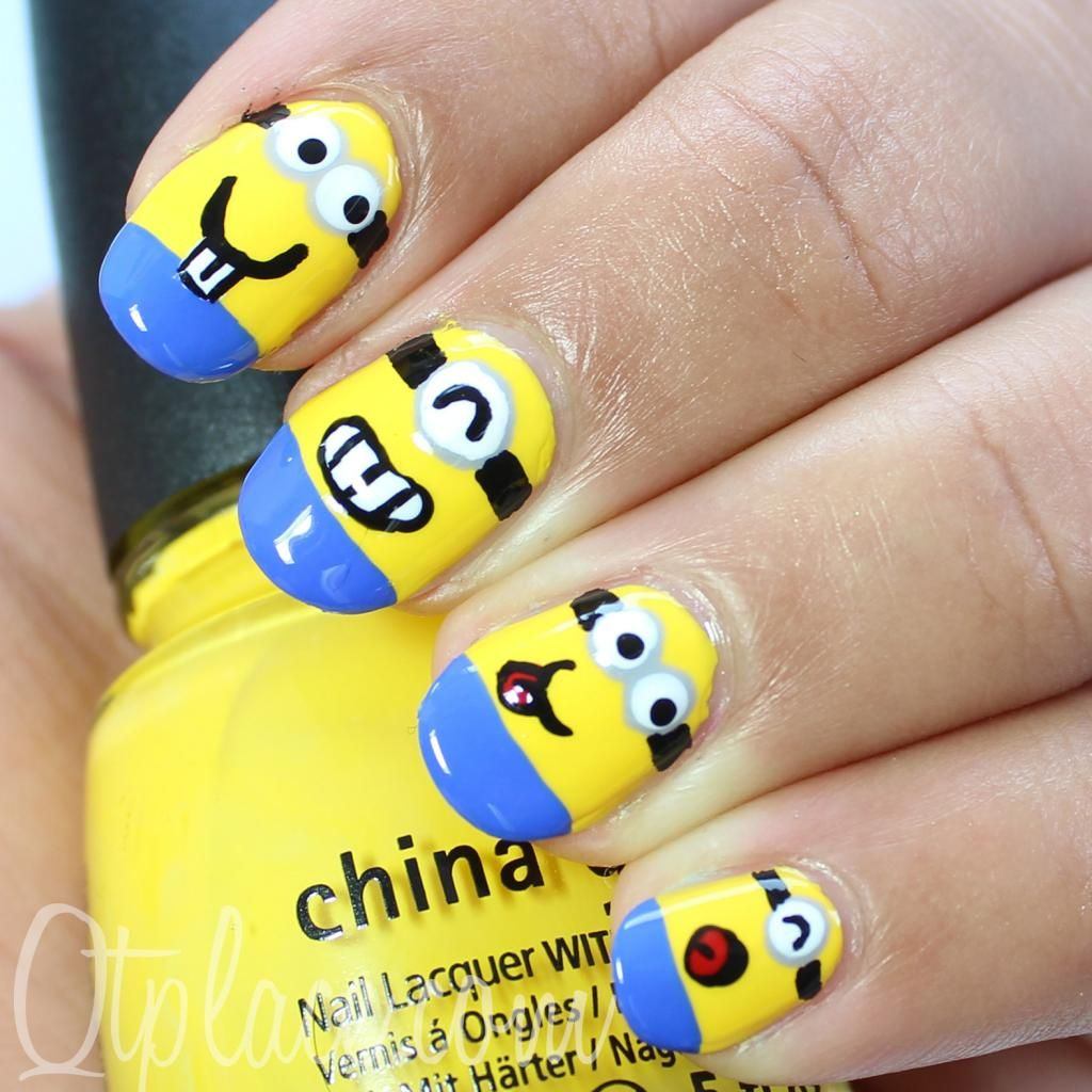 despicable me minions | Despicable me minion nails | Favorite ...