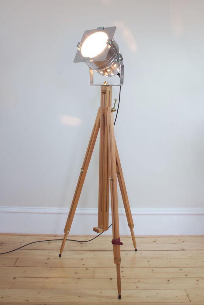 Vintage wooden floor lamp floor lamps pinterest wooden floor vintage wooden floor lamp aloadofball Image collections