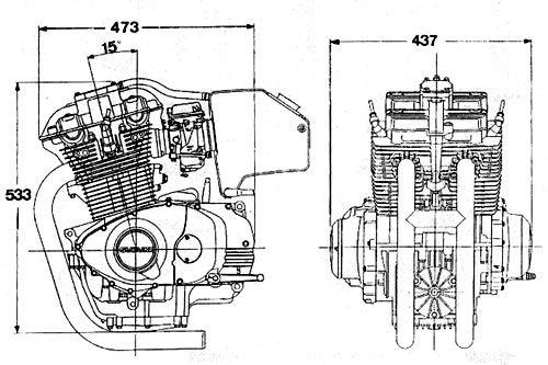 parallel twin inline 2 cylinder engine motocykle pinterest rh pinterest ca Kawasaki Parallel Twin-Engine Parallel Twin Engine of Working