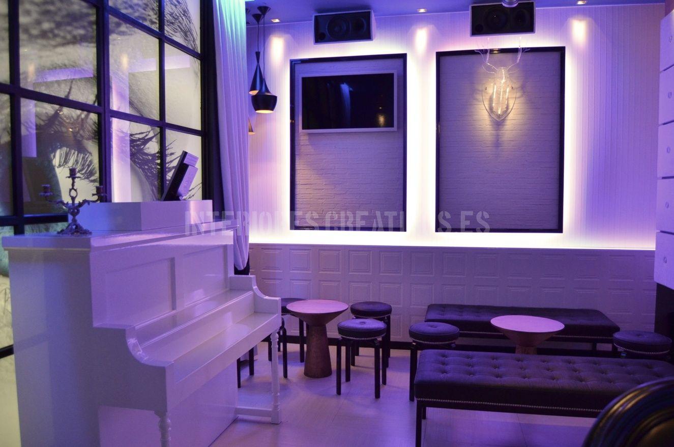 Dise o de interiores bar de copas trabalenguas medina del for Diseno de interiores facebook