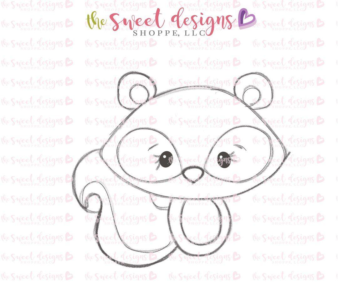 Baby Squirrel Cutter Kawaii doodles, Baby squirrel