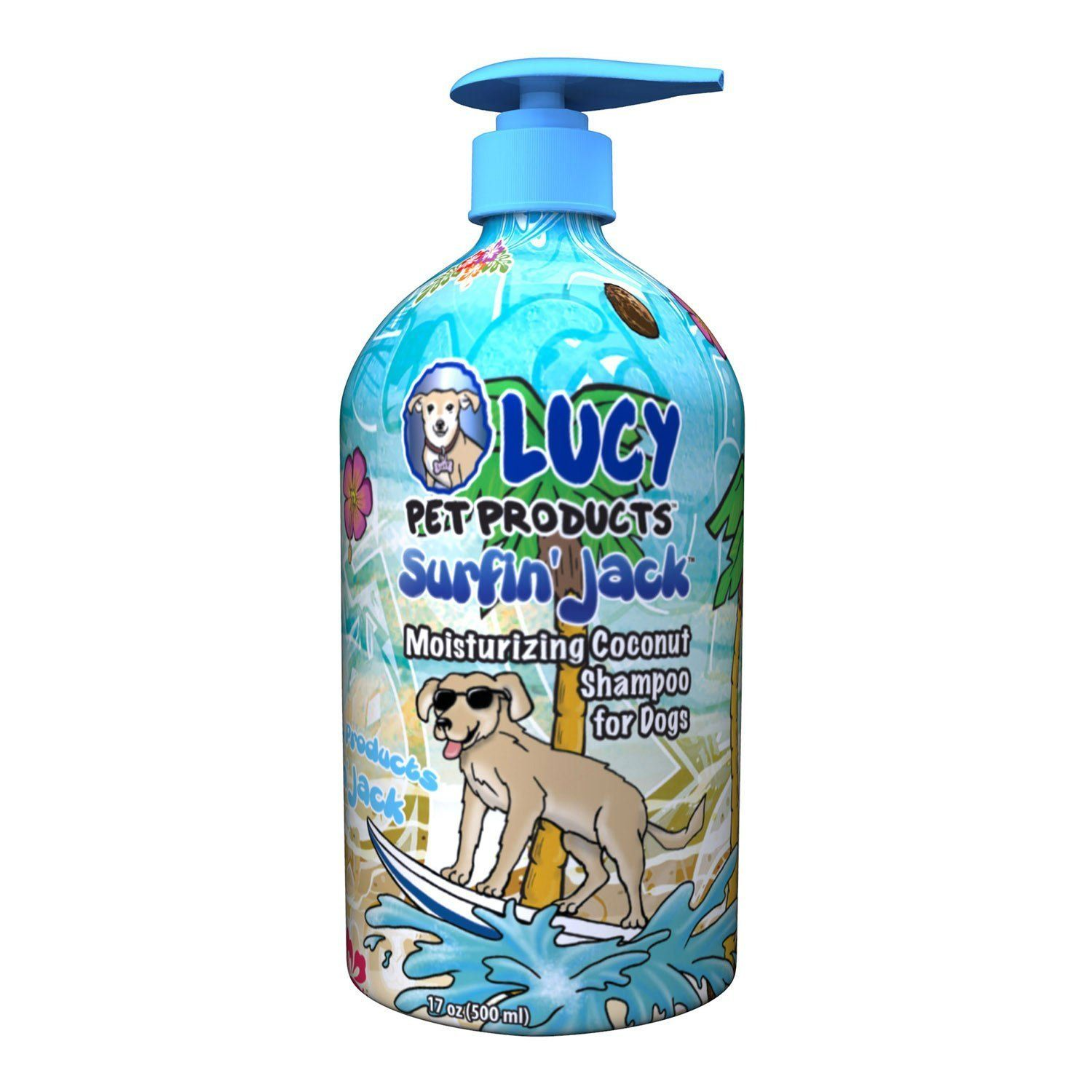 Lucy Pet Surfin' Jack Moisturizing All Natural Coconut