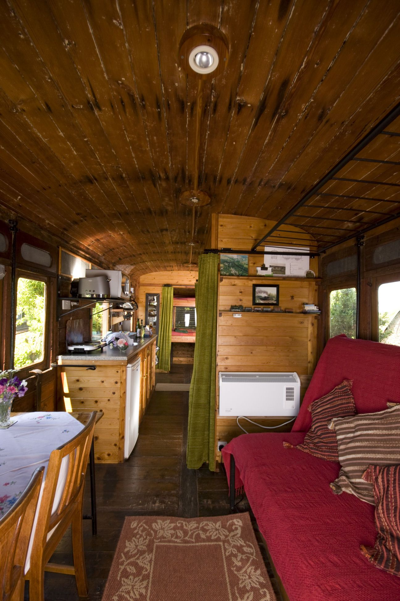 Railway Carriage Holiday Homes House furniture design