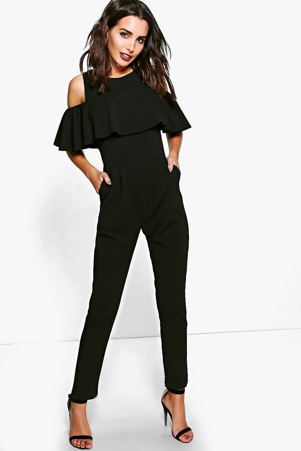 e635a80a2 Jump start your new season wardrobe with the always chic and versatile  jumpsuit. This 70s inspired one piece is an ultra-versatile day-to-night  wonder.